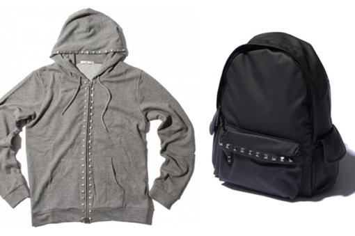 hare-studded-zip-hoody-backpack